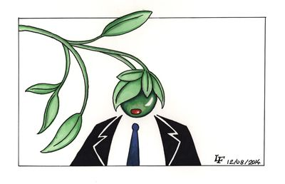 Future Tory Leader Reincarnated as an Olive