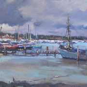Sunshine and Showers,, Heybridge Basin