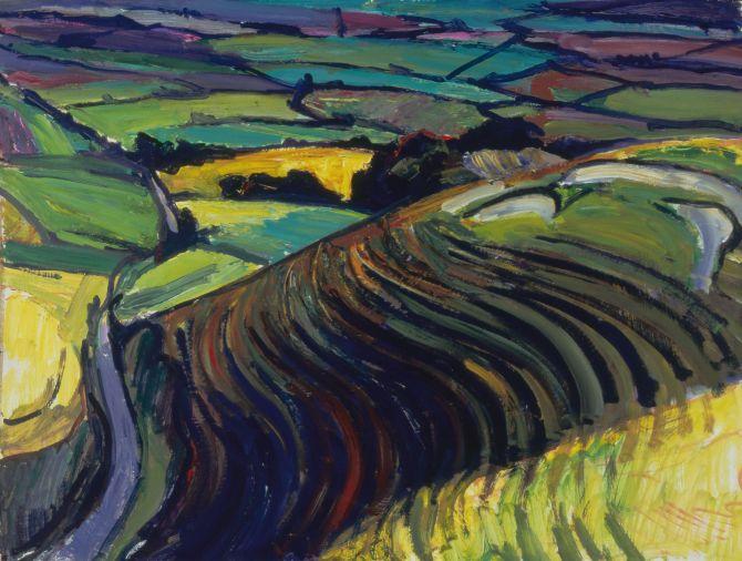 White Horse Hill, 1990