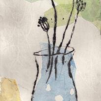 blue jug drypoint