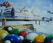 Alberto Martinez: Still life with pier