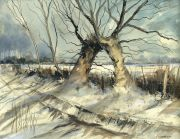 Alan Wickham Pollard trees Ringmer
