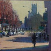 Andrew Gifford St Peters Church from Ditchling Road afternoon,