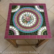 Mosaic side-table