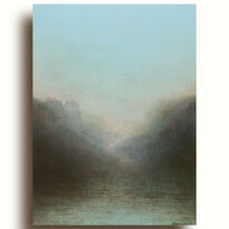 Waters Meet | Oil on Paper
