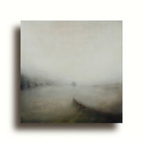 Walking The Adur | Oil on Canvas