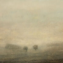 Singular Landscape | Oil on Paper