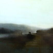 Morning Walk | Oil on Canvas