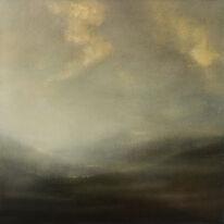 Between Munroes | Oil on Panel