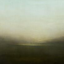 Night Lake | Oil on Canvas