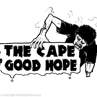 The Cape of Good Hope Tee design