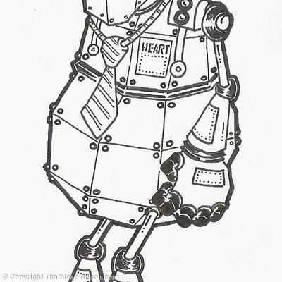 Robot - Boys T-shirt