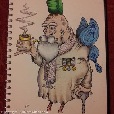 God of Wisdom - Original