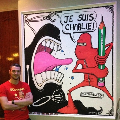 Charlie Hebdo tribute - Je Suis Charlie