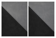 Grey and Black Diptych