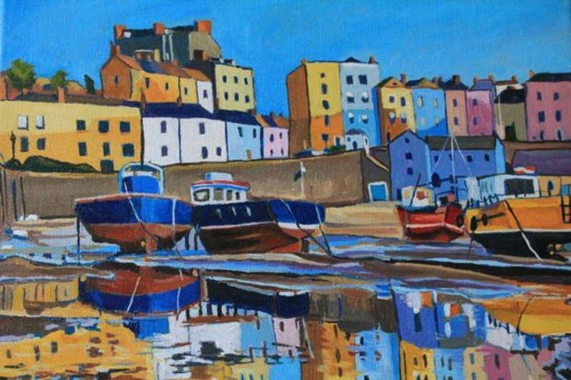 A Tenby Reflection