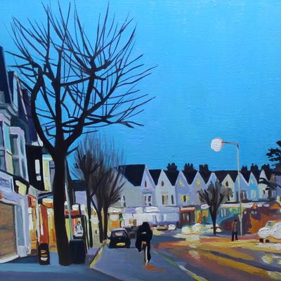 Blue Hour on Uplands