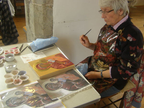 The icon takes shape October course