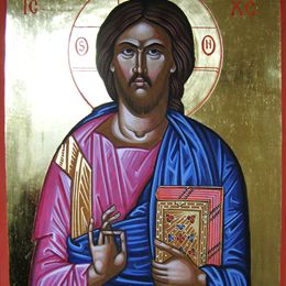 Completed Christ Pantocrator July Course