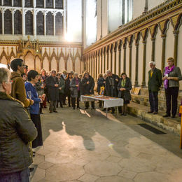 Opening of the Chapter House Exhibition