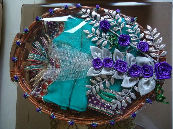 Trousseau Saree Basket