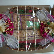 Multiple Saree Platter