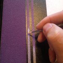 Pin Stripe & Splat