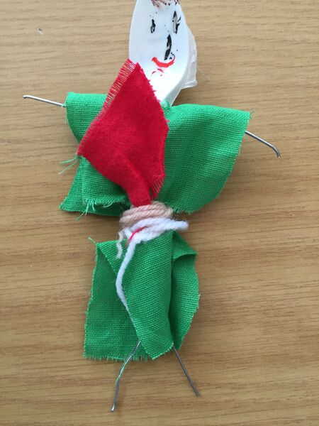 Spoon Doll by Tufnell Park Primary Student