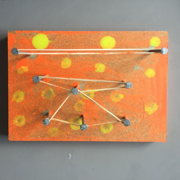 Having fun with wood, nail and paint at Drayton Park Primary