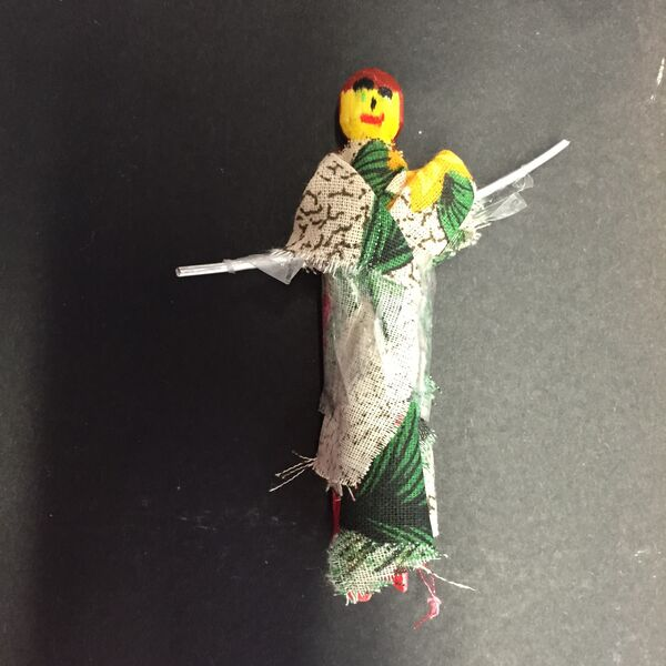 Cloth peg dol by Tufnell Park Primary school student