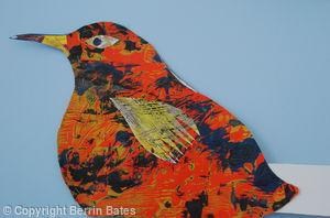 bird head dress