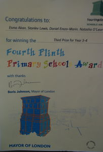 Forth Plinth Primary school Award