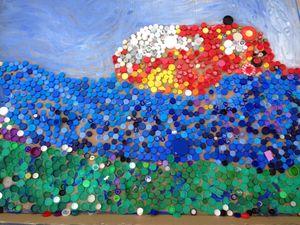 Lie Boat mosaic
