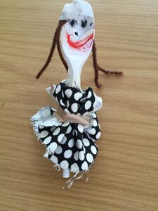 Spoon Doll by Tufnell Park Primary School Student