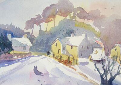 Buckinghamshire farm house in Winter