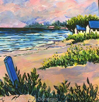 7Mile Beach Peachy light