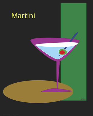 Martini in Black