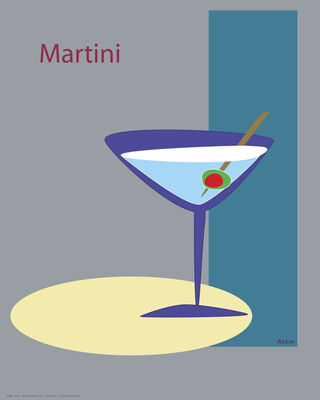 Martini in grey