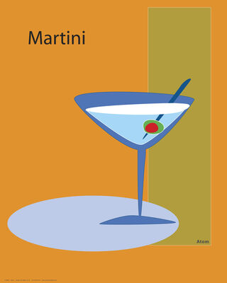 Martini in Orange