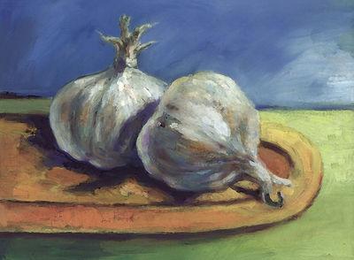 Two Garlic