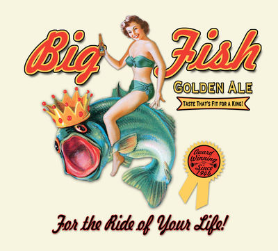 Big Fish Golden Ale Beer