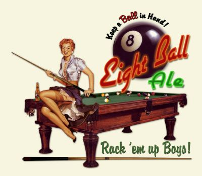 Eight Ball Pool Ale Beer