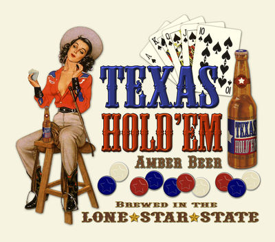 Texas Hold Em Poker Beer