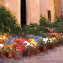 Sidewalk Flower Market