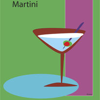 Martini in Green