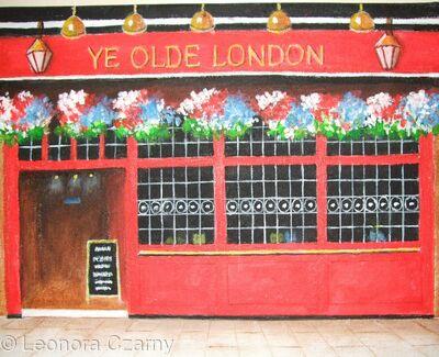 Ye Olde London pub
