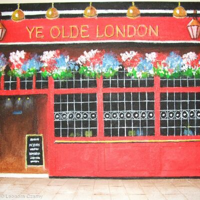 Ye Olde London pub