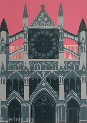 Westminister Abbey (pink)