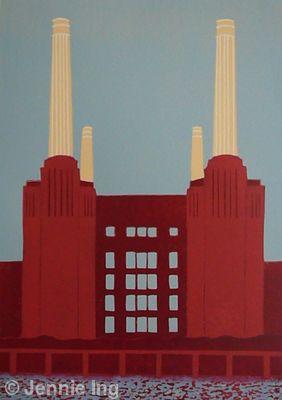Red Battersea Power Station (II)