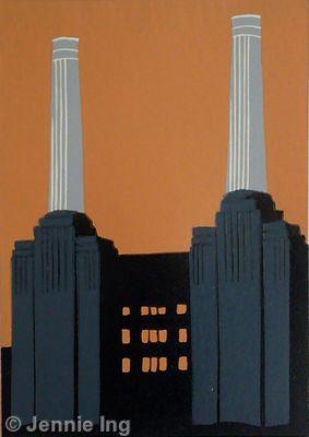 Battersea Power Station (ochre)